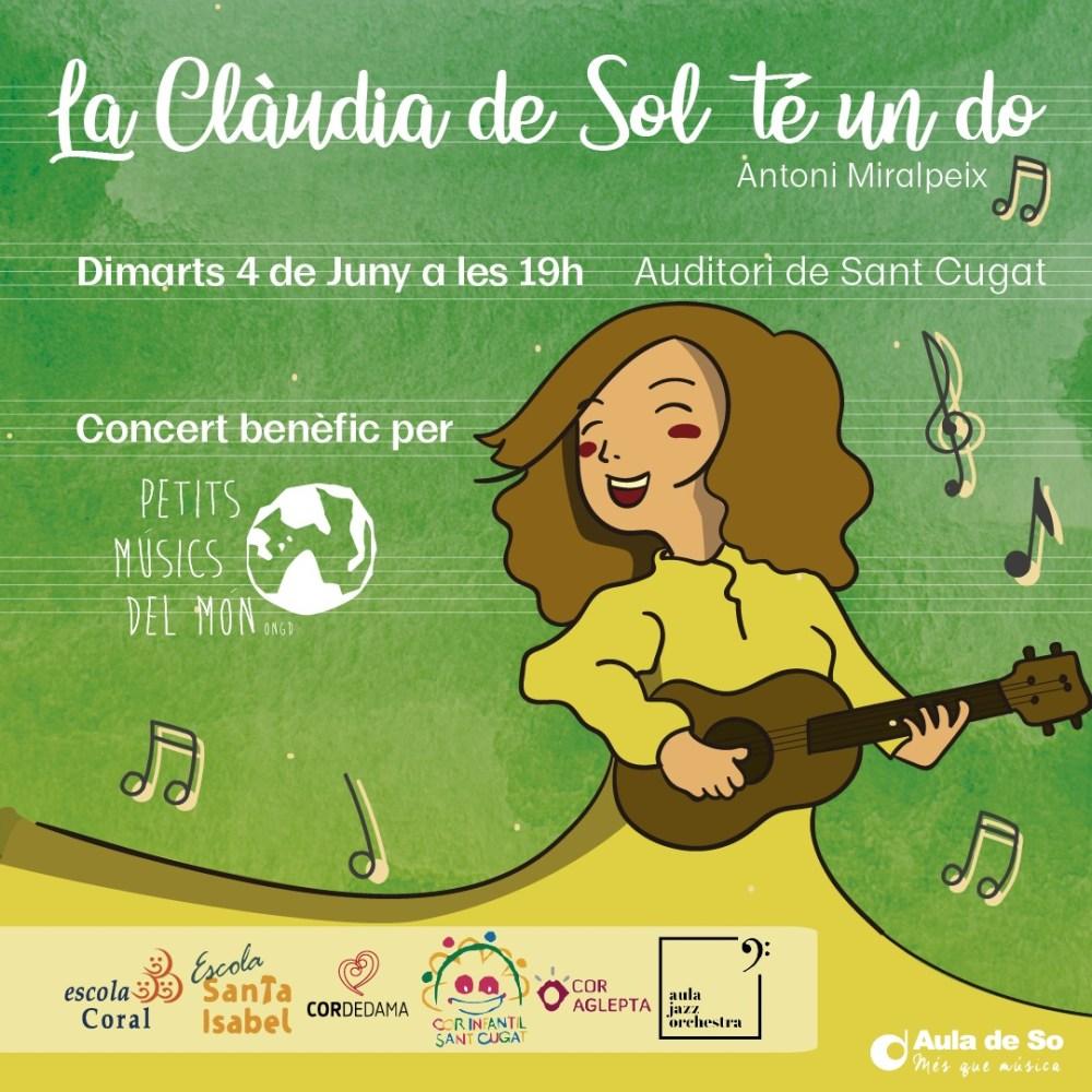 """Benefit concert of support to """"Petits Músics del Món"""""""